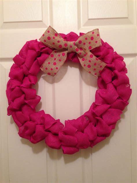 wreaths diy burlap wreath diy diy pinterest burlap wreaths