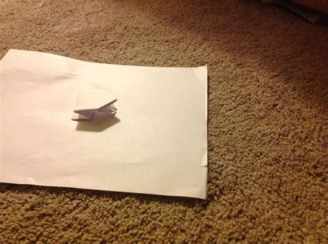 Index Card Origami - index card origami how to make an origami jumping frog