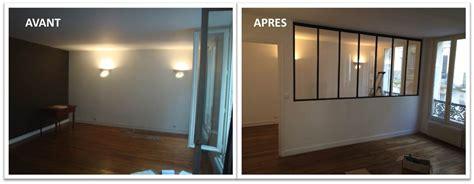 cloison pour separer une chambre verri 232 re pour s 233 parer une chambre et un salon