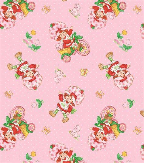 pattern making paper joann strawberry shortcake classic fleece fabric just the