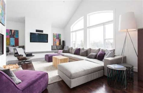 interior design colors modern interior design ideas decorating accents in purple
