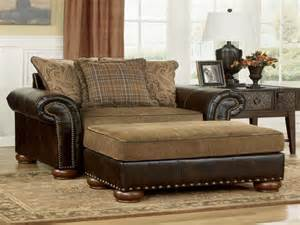 Oversized Comfy Chair With Ottoman Living Room Interesting Oversized Sofa Chair Oversized