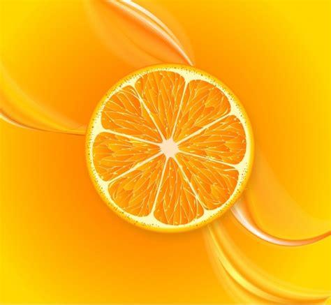 background juice fruit juice background orange slice decoration closeup