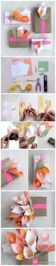 Papercraft Gifts - diy paper lilies beautiful craft diy crafts
