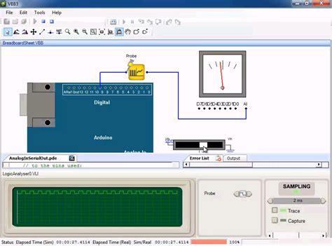 breadboard circuit simulation software breadboard free arduino simulator robotshop
