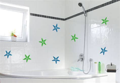 decals for bathroom tiles tile decor star fish wall sticker wall art com
