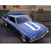 1969 Chevelle Ss Blue