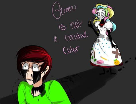 is green a creative color green is not a creative color by gurobuns on deviantart