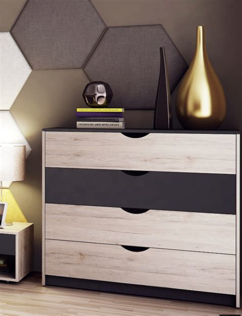 mona wide chest of drawer dresser r06 amos mann furniture