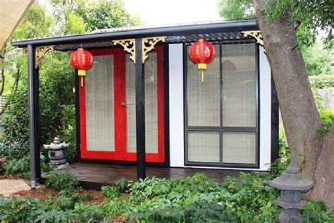 Backyard Gazebo Women Are Taking On The Man Cave With She Sheds And