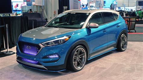 Per Lowering Kit S Hyundai Tucson vaccar hyundai tucson sport to be shown at sema autoblog