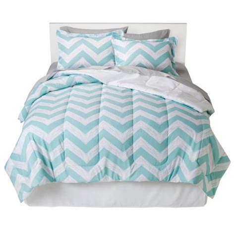 mint green chevron bedding room essentials chevron bed in a bag target
