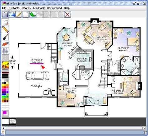 house drawing software home plan drawing modern house