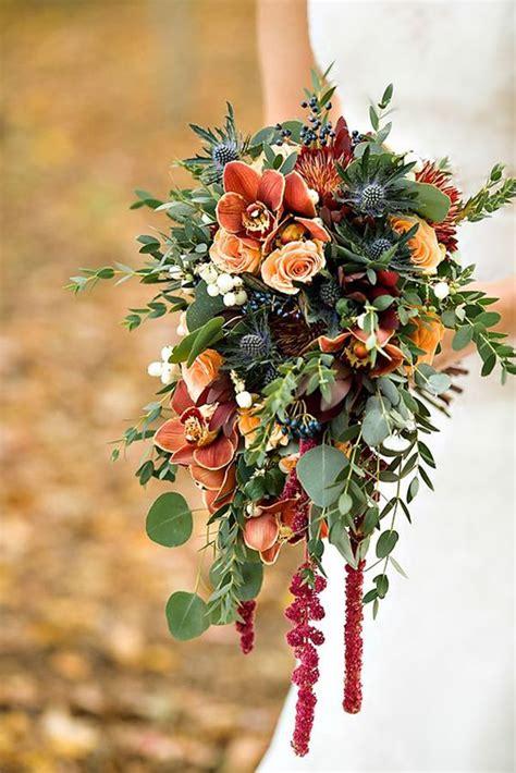 Fall Flower Bouquets Weddings by Bridal Flower Bouquet Trends For Fall Weddings Arabia