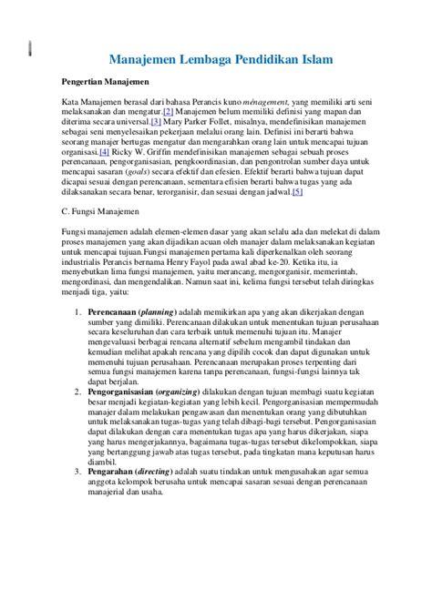 Manajemen Sekolah Mengelola Lembaga Pendidikan Secara Mandiri 3 manajemen lembaga pendidikan
