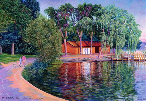 the boat house seattle greenlake in seattle how to paint art