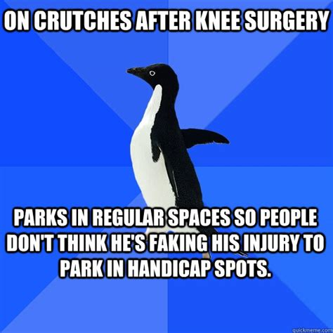 Knee Surgery Meme - funny knee surgery jokes memes