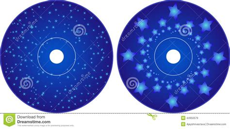 design label cd vector cd dvd label design template stock vector image 44950579