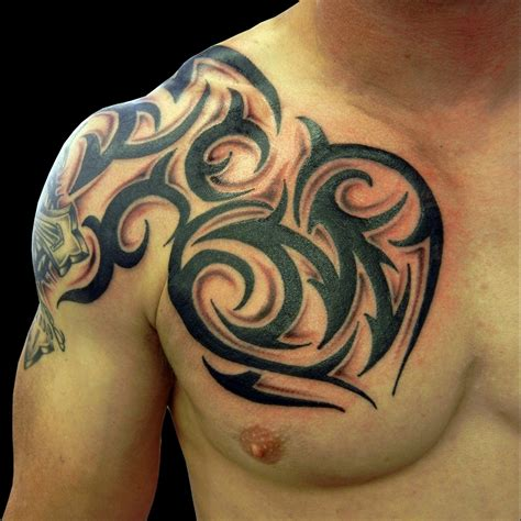 tribal tattoo designs for men chest tribal chest designs for best design