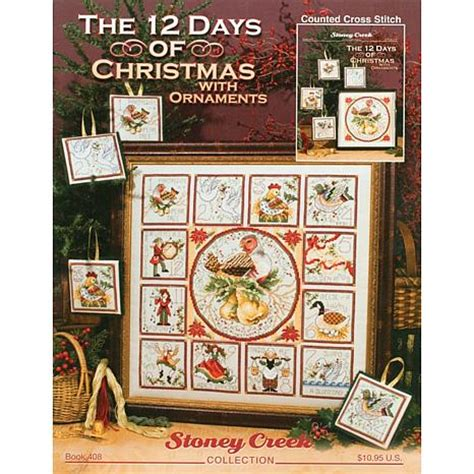 counted cross stitch the 12 days of christmas with