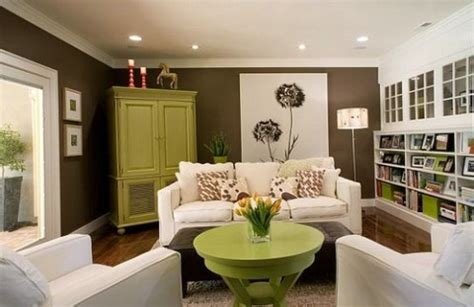 Green And Brown Living Rooms by Green And Brown Living Room Decor Interior Design
