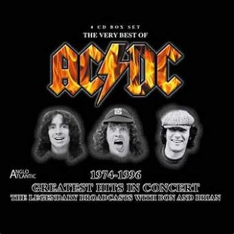 ac dc best the best of ac dc greatest hits in concert 1971 1996