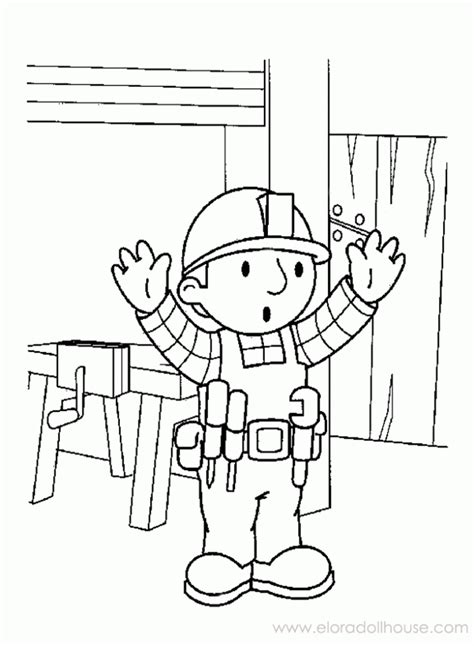coloring page generator free bob the builder coloring pages coloring home