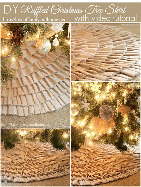 21 best diy tree skirt ideas craft weekly