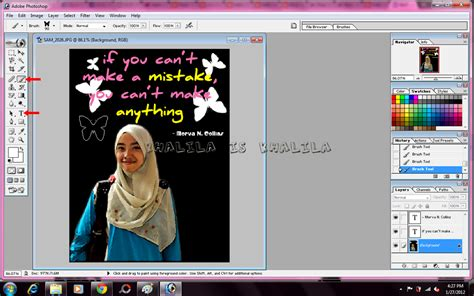 tutorial edit gambar guna photoshop khalila tutorial photoshop background hitam pada gambar