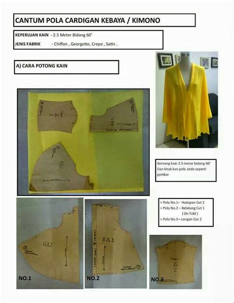 pattern kebaya kimono 11 best images about sewing kimono cardi tutorial on