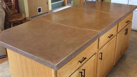 How To Do Cement Countertops Diy Concrete Countertop Thehomesteadingboards