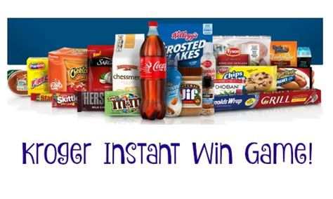 Instant Prizes To Win - kroger instant win game win free prizes southern savers