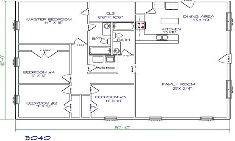 barndominium floor plans texas barndominium floor plans texas barndominium designed for living 2 bed 2 bath house plans