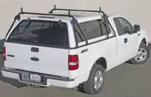 truck cap ladder rack no drilling custom made to fit