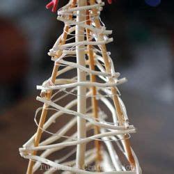 buat pohon natal di coc buat pohon natal dari sisa ranting pohon yuk tutorial