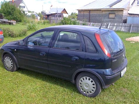 corsa opel 2004 2004 opel corsa pictures 1 4l gasoline ff cvt for sale