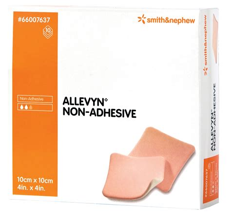 Melolin 10x10 allevyn non adhesive dressing