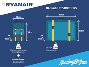 ryanair cabin baggage 2017 ryanair baggage allowance for hold luggage