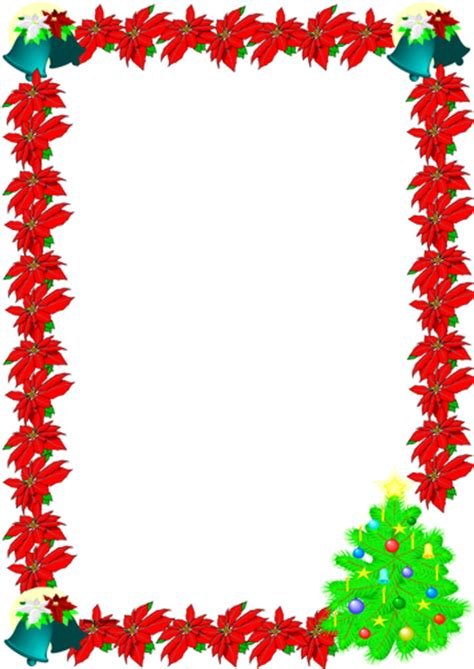 christmas themed paper christmas themed lined paper and pageborders 1 by