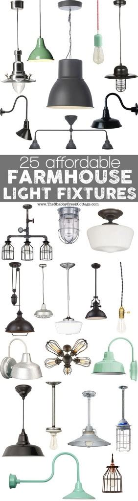 Farm Style Light Fixtures Farmhouse Style Decorating Inspiration To Diy