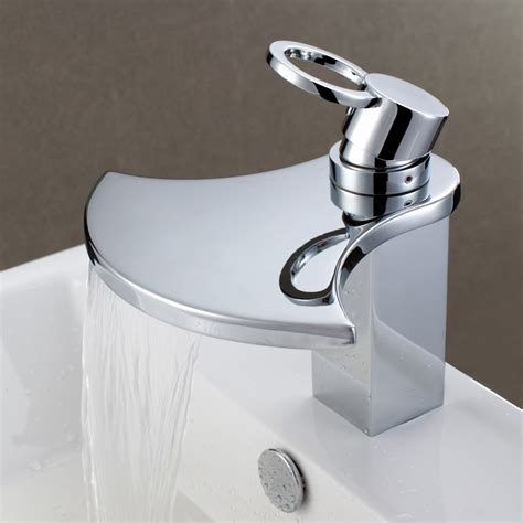 waterfall faucet design viahouse