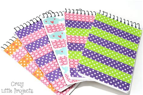 how to use washi tape washi tape notebook and pen set