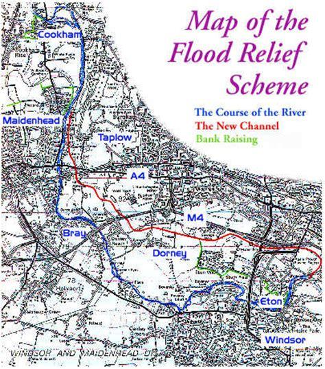 river thames scheme map thamesweb news the river thames flood relief scheme