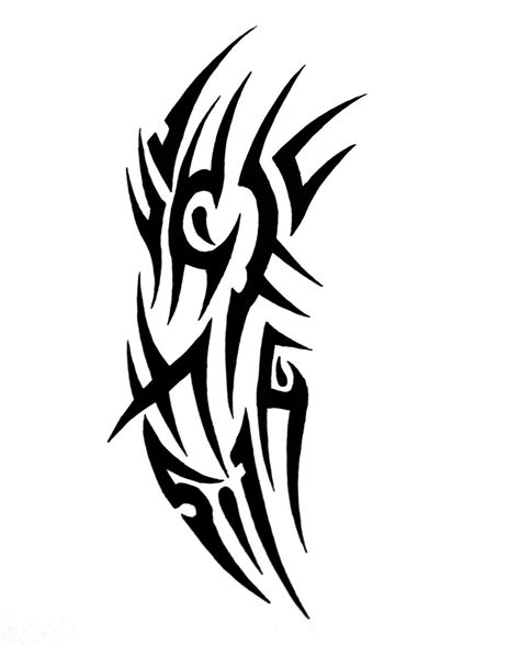 nice tribal tattoo design by sorentalon