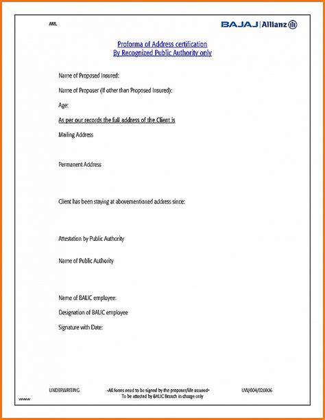 letter bank manager address proof lovely proof of address letter format 187 regulationmanager