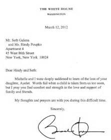 ayelet nation condolence letter from the president for