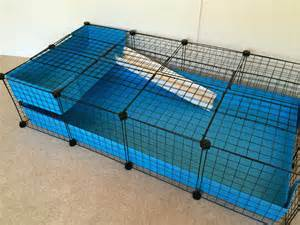 2 x 6 grid cage c and c guinea pig cages