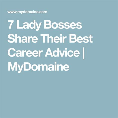 career advice for women tips for having a successful career career infographic 7 lady bosses share their best career