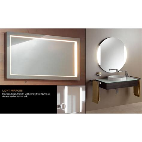 650 mm wenge mirror c w lights keuco edition 300 light mirror 1250 w x 650 h mm uk