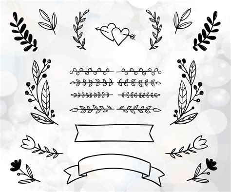 wedding diy invitation clipart wedding invitation files for
